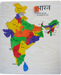 Map Of India Puzzle